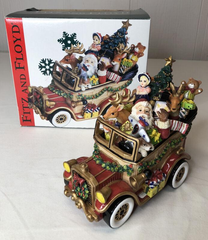 "Flitz and Floyd Santa Car Musical 2002 ""Here Comes Santa Claus"""