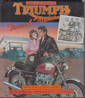 TRIUMPH TR5 TR6 BONNEVILLE THRUXTON TIGER JUBILEE '37-80 PRODUCTION HISTORY BOOK