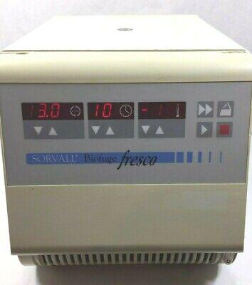 Sorvall Biofuge Fresco Refrigerated Centrifuge W Rotor Lid Warranty
