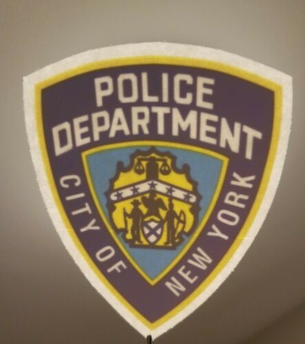 NYPD  In/Window FACES/OUTSIDE OFFICIAL Decal Sticker
