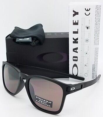NEW Oakley Latch Squared sunglasses Black Prizm Polarized Asian Fit 9358-06 SQ