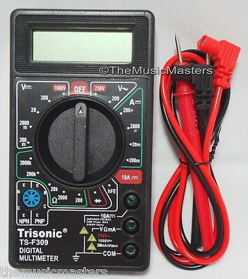 Compact Lcd Digital Multimeter Tester Ac Dc Volt Meter Precision Testing Tool