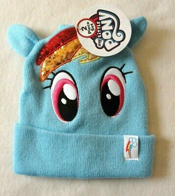 Girl's My Little Pony Ski Hat and Glove Set - One Size fits Most - NWT