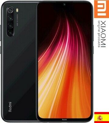XiaoMI REDMI NOTE 8, 4GB+64GB,ESPAÑA VERSION, Camara 48 MpX,Snapdragon 665,NEGRO