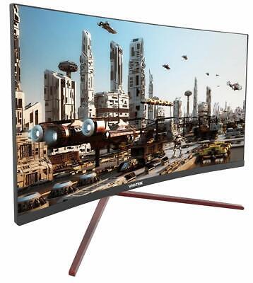 VIOTEK GN27CB 27-inch 144Hz Curved Gaming Monitor 1080p Samsung VA Panels HDMI