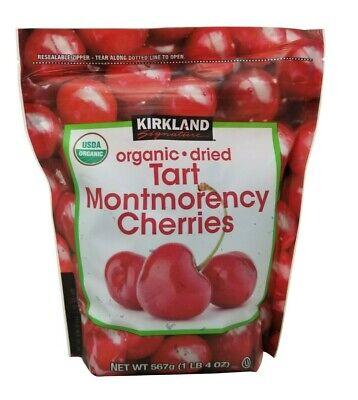 Kirkland Signature Organic Dried Tart Montmorency Cherries 1 LB 4 OZ Montmorency Tart Cherries