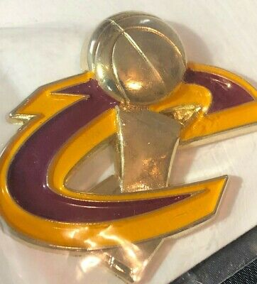 Cleveland Cavaliers CAVS 2016 Championship Trophy Lapel Pin. NEW In Package. NBA