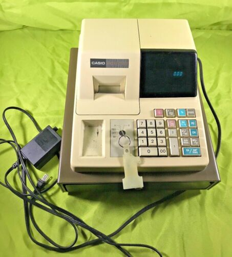 Casio PCR-202 Electronic Cash Register with Key