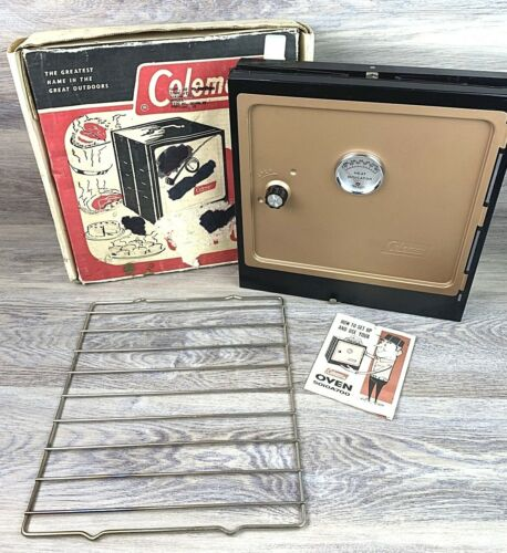 Vintage Coleman Folding Collapsible Camp Oven Stove No.5010A700