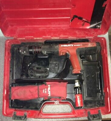 Hilti Dx 351 Fully Automatic Powder-actuated Tool W Case Tooling