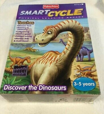Fisher-Price Smart Cycle Discover the Dinosaurs Game -