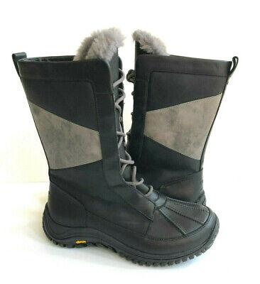 UGG MIXON ADIRONDACK BLACK WATERPROOF Boot US 8 / EU 39 / UK 6.5