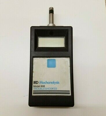 Ird Mechanalysis Model 808 Troubleshooter Vibration Pickup