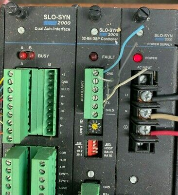 Slo-syn 2000 Superior Electric Multi Axis Controller Mx2000-2a