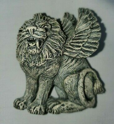 Lammasu Winged Lion Gargoyle Refrigerator Magnet Ceramic Resin