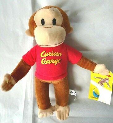 New GUND Curious George Monkey Plush Stuffed Animal Toy