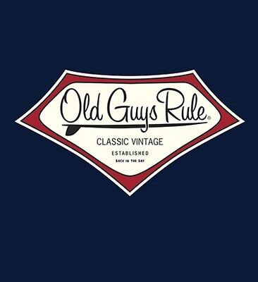 OLD GUYS RULE LONGBOARD CLASSIC VINTAGE EST BACK IN THE DAY SURFBOARD S 2X
