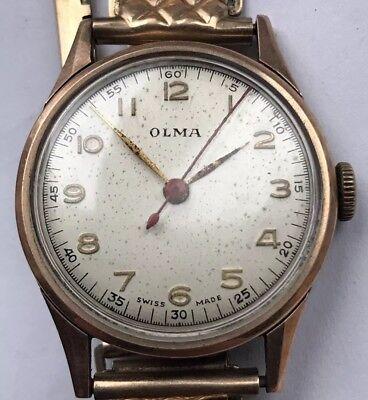 Vintage Olma vintage wrist Watch segunda mano  Embacar hacia Argentina