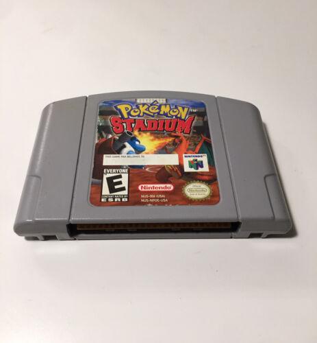 Pokemon Stadium Nintendo 64 N64 Authentic Tested Working Game  - $28.25