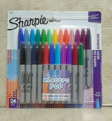 Sharpie Set Of 24 Permanent Markers 9936