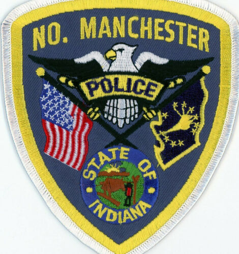 NO. Manchester Police Patch Indiana IN