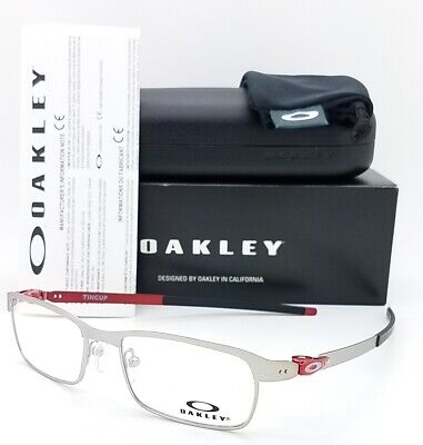 NEW Oakley Tincup RX Eyeglasses Frame Satin Chrome OX3184-0750 AUTHENTIC 3184