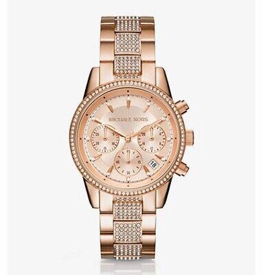 Michael Kors Rose Gold Tone Womens Watch