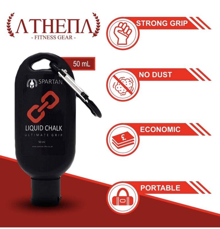 Spartan Ultimate Grip Liquid Chalk for Climbing, Gymnastics, Weightlif...