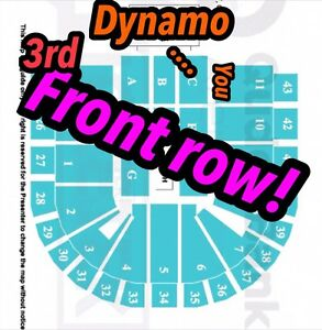 Dynamo 3rd FRONT ROW SYDNEY TICKETS X 2 Sydney City Inner Sydney Preview