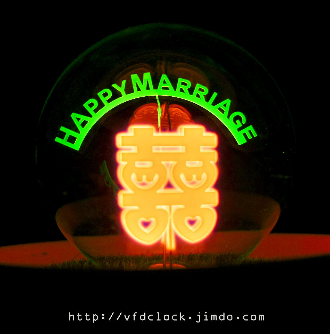 Neon Light Bulbs >> Details About Happy Marriage Artful Gas Discharge Neon Light Bulb Glow Lamp Nixie Bulb Tube