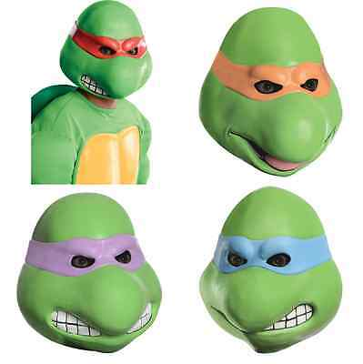 ADULT NINJA TURTLE MUTANT LATEX MASK LEO DONNY RAPH MIKE LEONARDO RAPHAEL - Ninja Turtle Masks