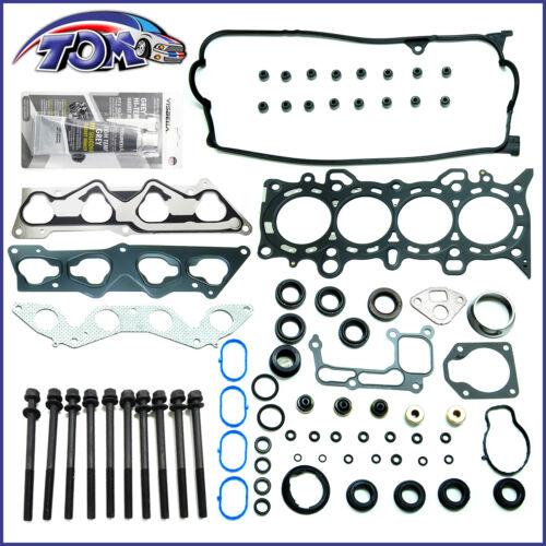 Head Gasket Set For 2001-2005 2002 Honda Civic DX LX 1.7L SOHC 16v VTEC D17A1