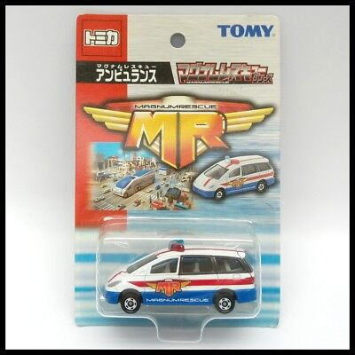 TOMICA MAGNUM RESCUE MR Toyota Estima 1/65 TOMY DIECAST CAR NEW 99 for sale  Shipping to United States