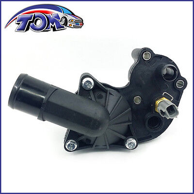 NEW THERMOSTAT & HOUSING KIT W/ SENSOR FOR 05-10 FORD MUSTANG V6 4.0L ONE HOLE