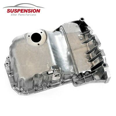 ENGINE OIL PAN FIT AUDI A4 VW PASSAT 1.8L W/O OIL LEVEL SENSOR HOLE