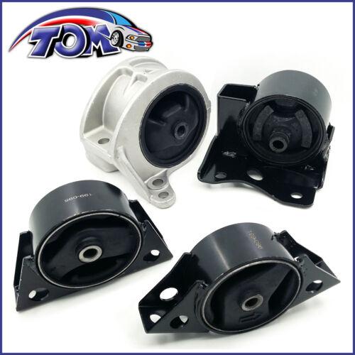 Engine Motor /&Transmission Mount Set 4PCS 1999-2002 for Infiniti G20 for Auto.
