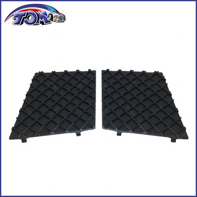New Pair Of Front Bumper Cover Lower Mesh Grill Trim For BMW E60 E61 M Sport