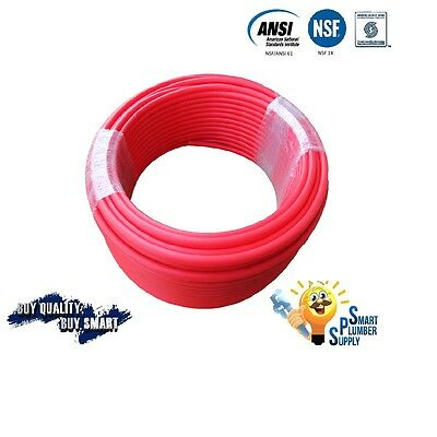 12 X 300 Ft Red Pex Tubing For Water Supply With 25 Years Warranty