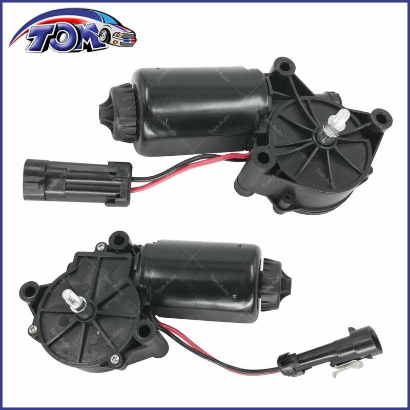 New (2) Headlight Motors Left And Right Side For Pontiac Firebird 93-97