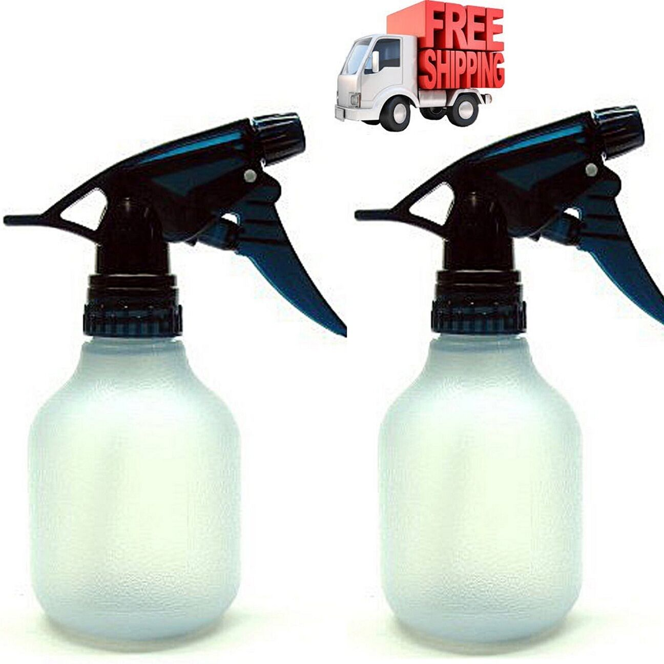 Empty Spray Bottle 2Pc 8Oz Water Chemical Small Lot Travel