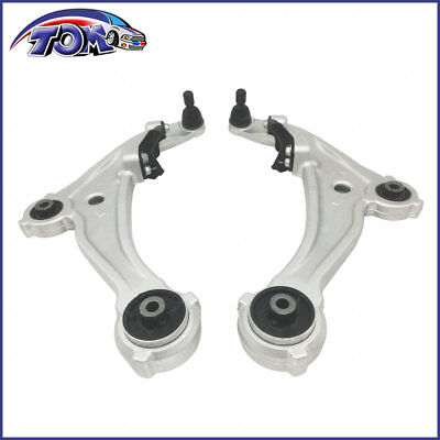 New Pair Of Front Lower Control Arms For 07 13 Nissan Altima 2 5 3 5L