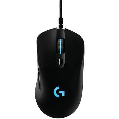 Logitech G G403 Prodigy 6 Button Usb Optical Scroll Gaming Mouse W  12 000 Dpi