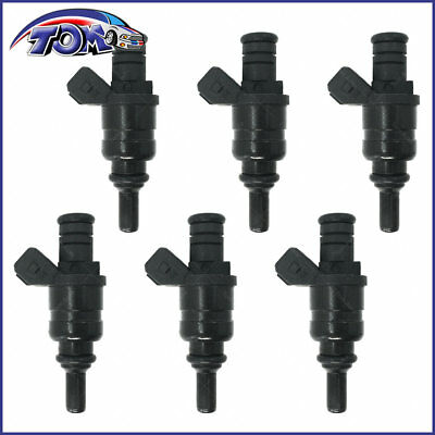 New Set Of 6 Fuel Injectors For Bmw 325Ci 320 325I X3 Z4 2.5L 2.8L 98-06 1427240
