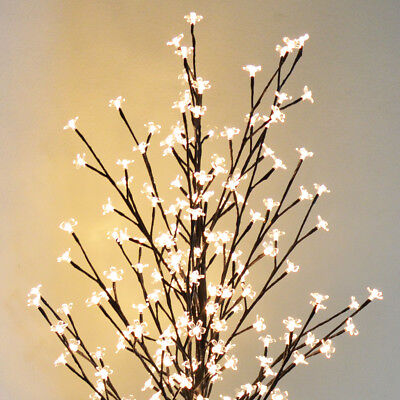 6ft Cherry Blossom Flower tree  208LED Light Tree Home Decoration Floor w Stand