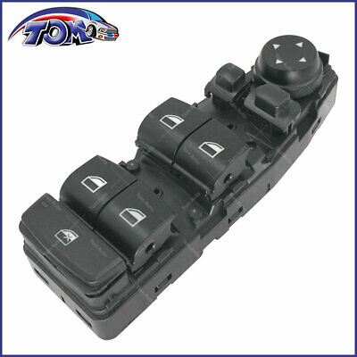 New Master Window Switch For BMW X3 5/6 Series 528I 535I 550I 535D 650I F10