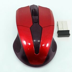 Wireless Optical 2.4 GHz. MOUSE Interface Mice PC Desktop Laptop + USB Receiver