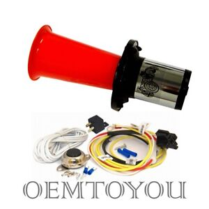 ooga air horn classic 12 volt w button relay installation. Black Bedroom Furniture Sets. Home Design Ideas