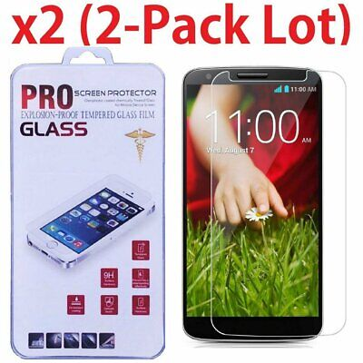 2 Pack Premium Ultra Thin HD Tempered Glass Film Screen Protector For LG G2 Cell Phone Accessories