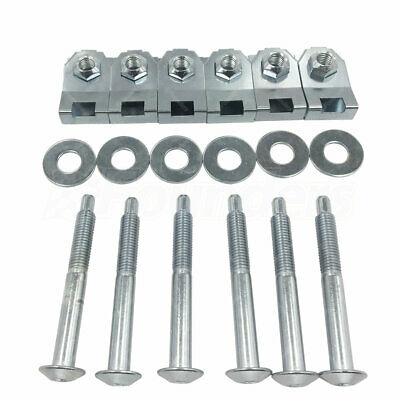 Bed Mounting Hardware 6 Bolt Set Kit Fit Ford F150 6 7 Foot Bed 924-313