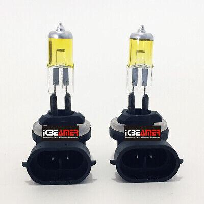 881 Halogen Upgrade Fog Light Bulb Xenon Yellow Replace 886/889/894/896/898